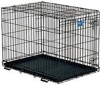 Life Stages Dog Cage 48'x30'x33' 48 lbs *** Startling review available here  : Dog cages