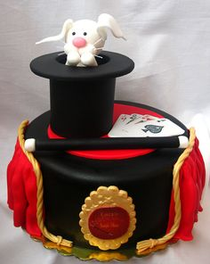 Magic Show cake