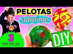 PELOTAS SALTARINAS o bouncy balls * 3 técnicas muy fáciles - YouTube