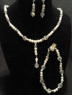 Bridal Necklace Set by BJDevine on Etsy