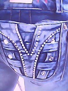 bolsillos de pantalón  jeans de mujer