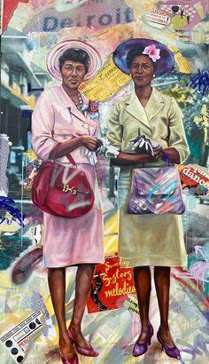 African American Artist, African American History, American Artists, Harlem Renaissance Artists, Black Artists, Street Artists, Detroit, Michigan, Art Gallery