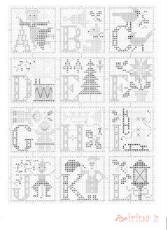 (2) Gallery.ru / Фото #1 - 64 - Clematis Christmas Alphabet Prairie Schooler 2