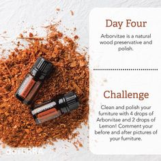 Day 4 of the 7 Day Spring Cleaning Challenge! Oh the smell of arborvitae is amazing I like to add lime oil with it as a cleaner/polish for wood & furniture. Will perk up a drab living room and make it ready for spring! #springcleaningchallenge #lovethis #cleaning #doterra #doterramom #oils #essentialoils #instagood
