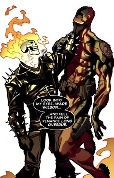Ghost Rider and Deadpool