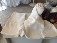 IRENE BI Set asciugamani www.irenebi.it realizzazione Irene Bi di Irene Brigolin