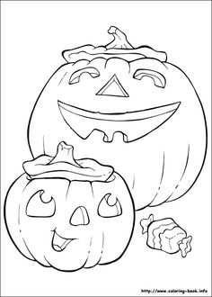 Halloween Coloring Pages Picture 34
