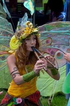 twig the fairy <3 seeing her at the renaissance festival in Charlotte