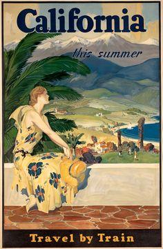 California This Summer. Circa 1933
