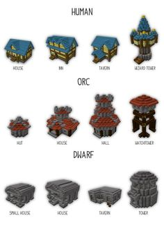World of Warcraft Building Bundle Minecraft Project