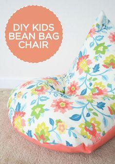 DIY Kinder Sitzsack