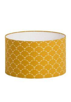 Abat-jour cylindrique tissu Asahi
