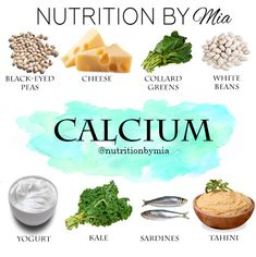 Nutrient Series: Calcium - Nutrition By Mia Natural Hemroid Remedies, Natural Remedies For Migraines, Natural Health Remedies, Vitamin Rich Foods, Calcium Rich Foods, Healthy Choices, Healthy Life, Juicing For Health, Food Facts