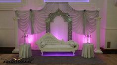 Wedding Stage Wedding Stage, Valance Curtains, Bed, Birthday, Furniture, Dreams, Home Decor, Birthdays, Decoration Home