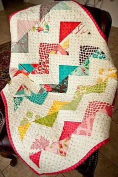 Zig Zag Quilt Pattern - perfect for scraps!