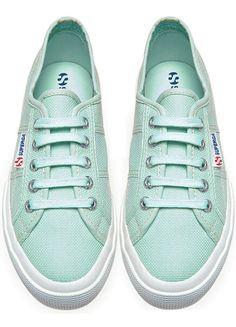 Mint Classic Tennis Shoes ♡ L.O.V.E.