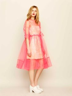 Molly Goddard for ASOS: pretty & girly Neon Tulle and Lace!