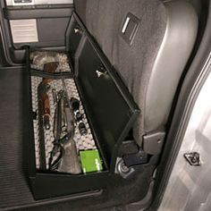 F-150 Under Rear Seat Lockbox