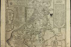 Los primeros Leo Belgicus fueron dibujados por el cartógrafo austríaco Michael Aitzinger en 1583, con fines propagandísticos.