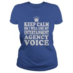 Entertainment Agency Voice T-Shirts, Hoodies. ADD TO CART ==► https://www.sunfrog.com/Jobs/Entertainment-Agency-Voice-Shirt-Royal-Blue-Ladies.html?41382
