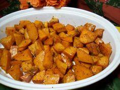 Oven Roasted Honey-Glazed Sweet Potatoes