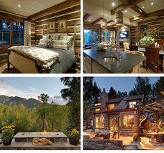 Aspen, Colorado Log Cabin by @Cuvée Escapes