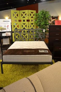 We can also help you create a perfect, romantic bedroom. The Attraction Bed has a contemporary feel and is brand new to the showroom. http://lifestylescomo.com/