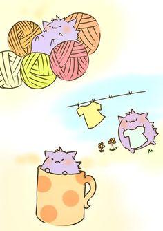 cute little gengar :D