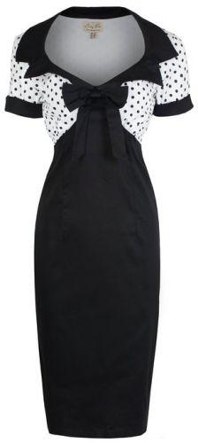 1950's Polka Dot Wiggle Vintage Dress UK 8 - 26 #plussize #dresses #vintage #Bridesmaid #dress #sale #damhag #1950s #polkadots