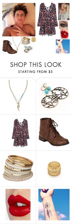 """""""Date w/ Nash"""" by depystyles13 ❤ liked on Polyvore featuring Banana Republic, MANGO, Breckelle's, Miss Selfridge, Madewell and Charlotte Tilbury"""