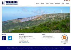 Vapor Ilhas - Montagens Técnicas e Industriais em Energias Renováveis e outras, Manutenção de vários equipamentos mecânicos com mão de obra ... http://www.vaporilhas.com/