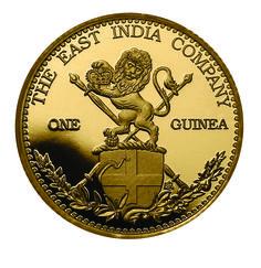 2015 East India Company Guinea Gold Coin