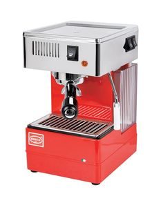 QuickMill 820 Red Espresso Machine – Mini PC Caffe Espresso Coffee Machine, Cappuccino Machine, Espresso Maker, Italian Espresso, Italian Coffee, Cappuccino Coffee Maker, Coffee Maker Machine, Food Truck Design, Coffee Photography