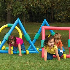 Good idea for obstacle course