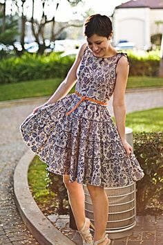 Adore this dress on Karla of Karla's Closet