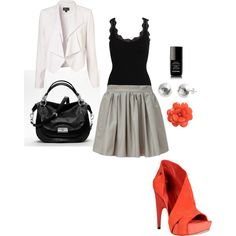 Splash of color, created by jadechanel87.polyvore.com