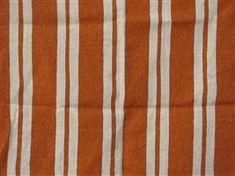 Straight Stripe in Orange - By the Yard