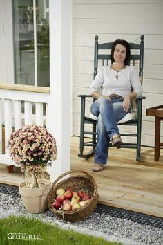 Relaxen auf der Porch