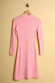 Beautiful Fluffy Soft Pink Angora Sweater Jumper L 42 Fur ...