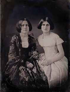 "Margaret and Kate Fox, c 1850'sThe Fox Sisters the ""Founders"" of the Spiritualist Movement."