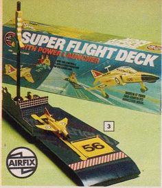 Airfix's Super Flight Deck #70s toys