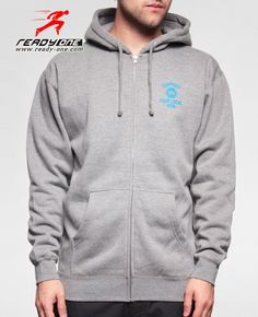 http://www.ready-one.com/heather-gery-zip-up-printed-hoodie.html