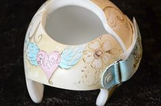 Cranial Band: Shabby Chic Band frontal view of design