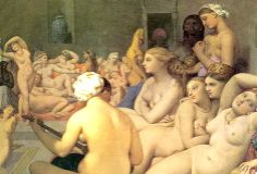 Jean-Auguste-Dominique Ingres paintings gallery - Discover, learn, print, share and enjoy the most famous paintings of all time. Bath Paint, Most Famous Paintings, Turkish Bath, Auguste, Painting Gallery, Stage Set, Favorite Words, French Artists, Oeuvre D'art