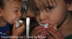 Easy Stovetop Donuts from Aimee at Fancy Lil Things