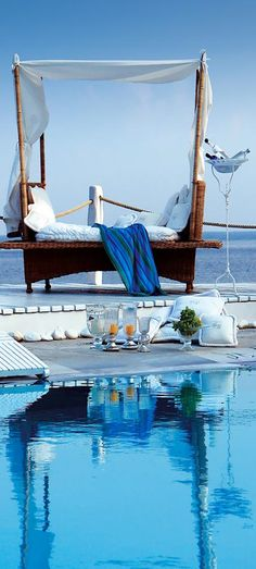 Kivotos Mykonos Hotel is a Luxury, Boutique, 5 Star hotel located in the Ornos area in Mykonos, Cyclades, Greece. Mykonos Grecia, Mykonos Island, Santorini, Dream Vacations, Vacation Spots, Places To Travel, Places To See, Paradis Tropical, My Pool