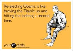Titantic hitting the iceberg a second time.