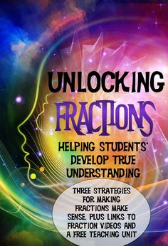 Research shows that a student's understanding of fractions at the end of fifth grade predicts their achievement in all high school math. That means understanding throughout elementary school is imperative! Get tips to help in the classroom, videos and an absolutely fantastic free fractions unit!