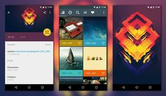 Great showcase of excellent use of #materialdesign for #android