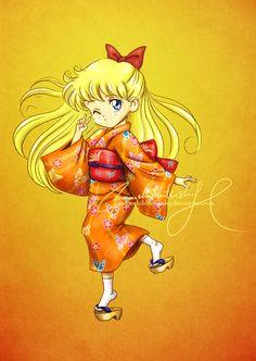 Matsuri Girl: Minako by moonchildinthesky.deviantart.com on @deviantART